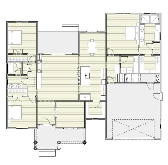 Jami House - Residential Design By Roberth Jordan