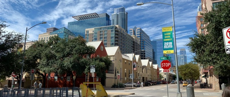 Austin Texas Walk Buildings