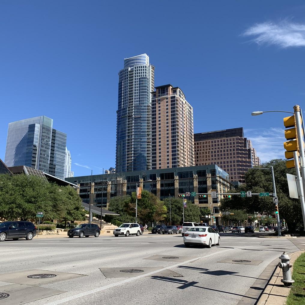 Austin Texas Walk Buildings