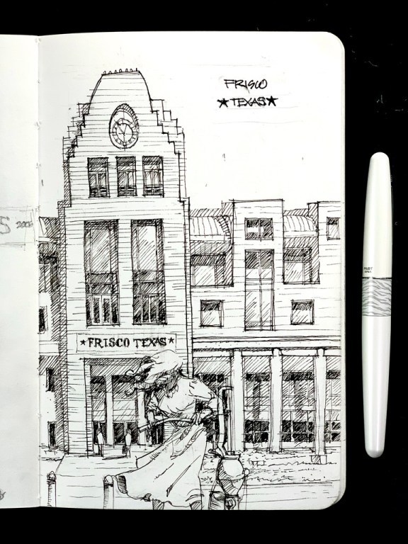 Sketchbook Frisco Texas