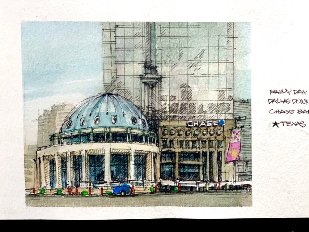 Chase Bank Sketch