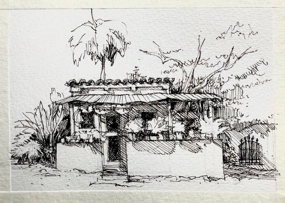 Tiny Ranch Sketch