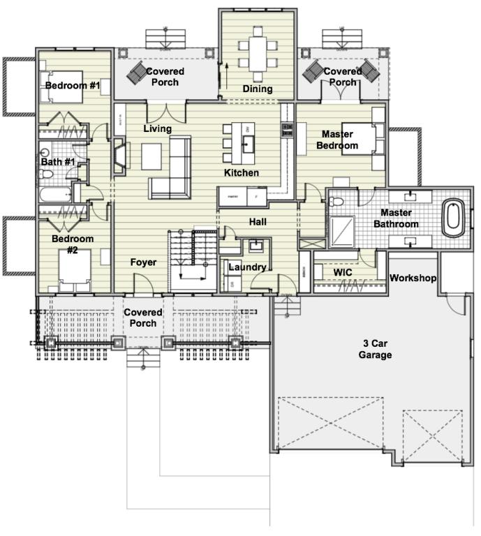 Southern House Plan
