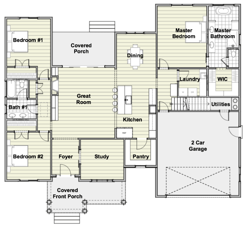 Urban Farmhouse Floor Plan