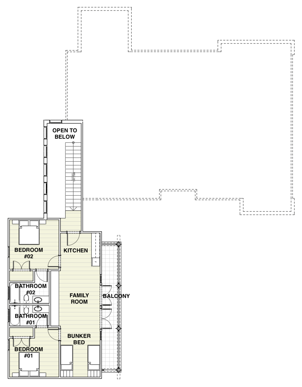 Creek House Plan