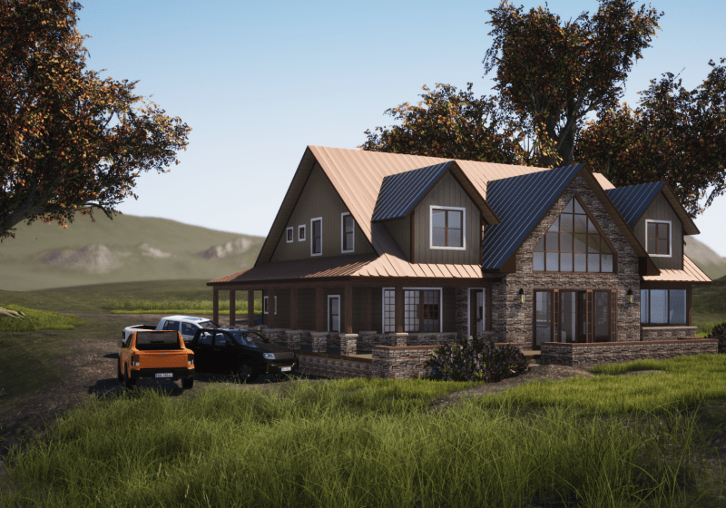 House Plan Lake View