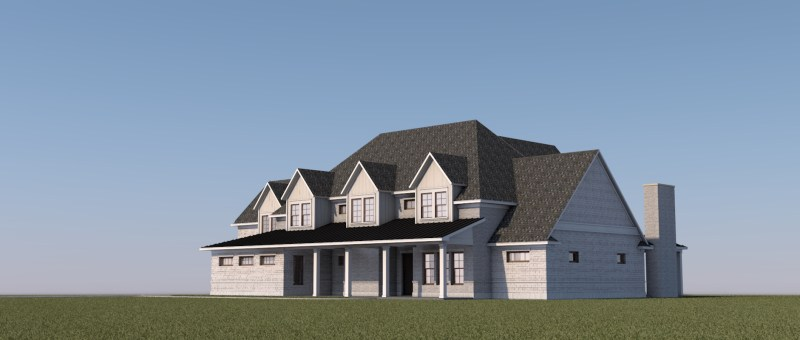 New Traditional House