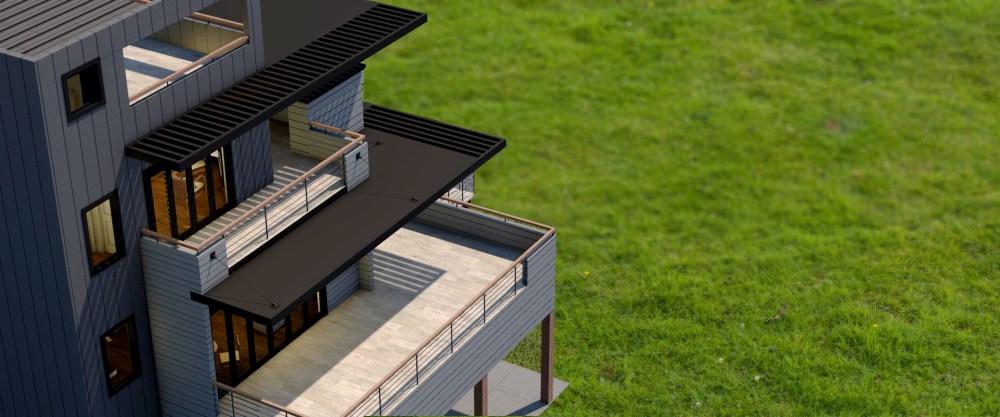 Black Lakehouse - House Design