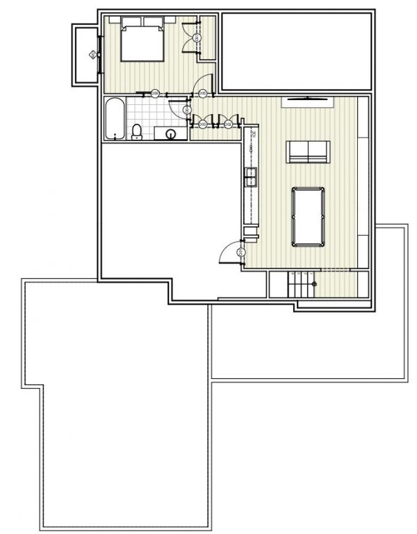 BASEMENT House Plan