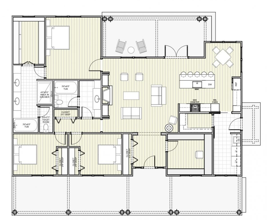 Country House Floor Plan