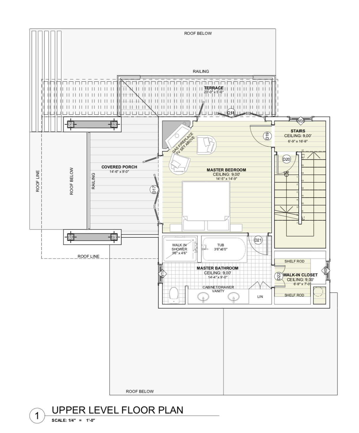 House Plan - Master Suite