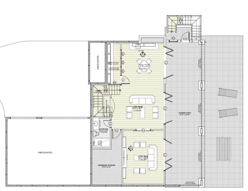 Walk-Out Basement Floor Plan