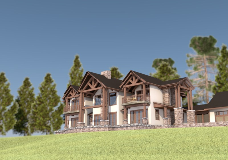 Mountain Style - House Design