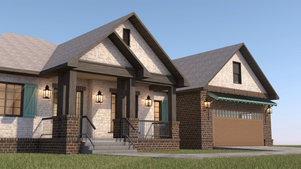 Old World Styled House