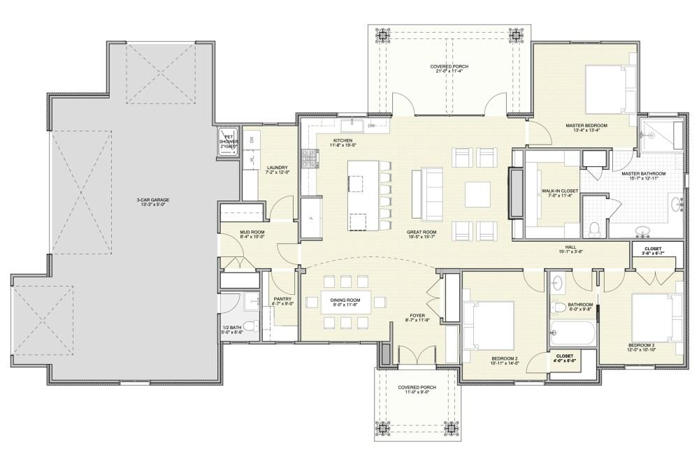 New Prairie House