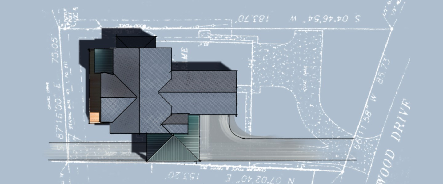 Blue Lakehouse Site Sketches