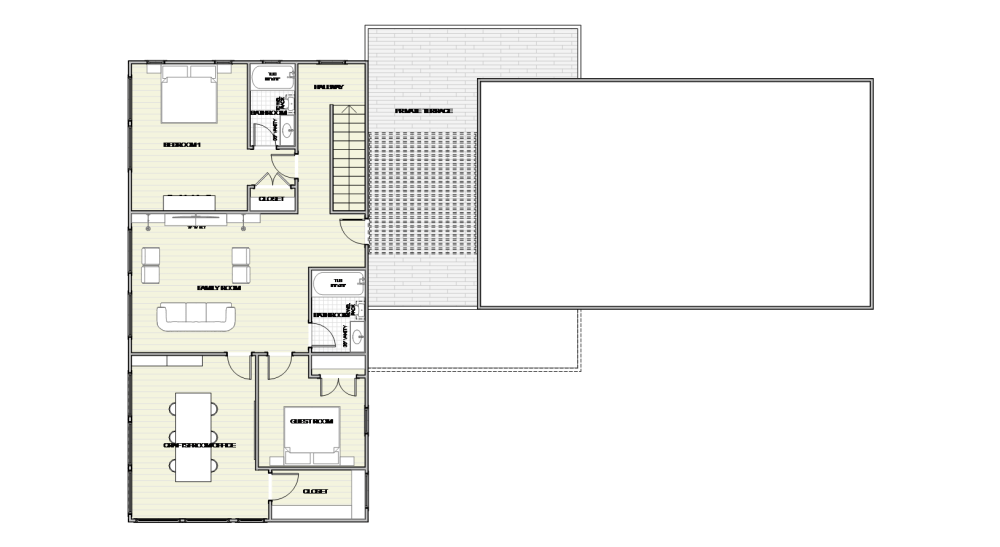 Minimalist Barn House - Lakehouse Design