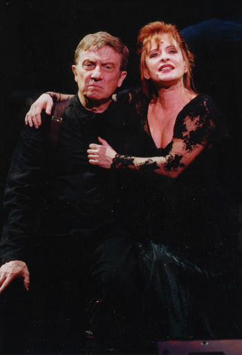 """Hearn and LuPone in """"Sweeney Todd"""""""