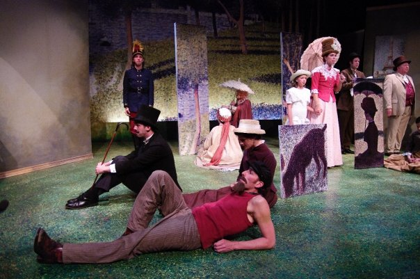 """Village Players cast of """"Sunday in the Park with George"""""""