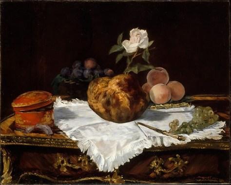 The Brioche - Manet