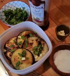 Eggplant and Squash