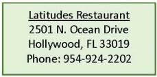Latitudes Restaurant and Tiki Bar