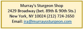 Murray's Sturgeon Shop