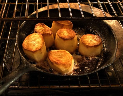 Fondant Potatoes.