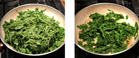 Arugula with Garlic and Oil