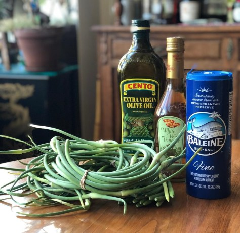 Garlic Scapes – 2 Recipes