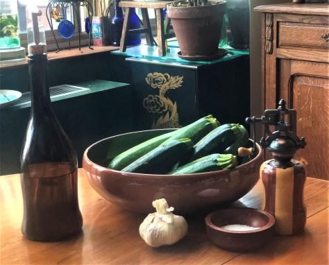 Zucchini Pasta Glassata