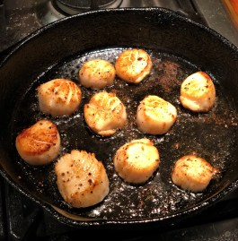sea scallops with brown butter