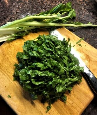 Lentils and Greens Bruschetta