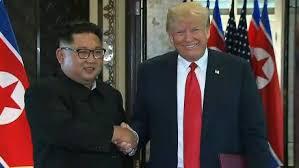 Trump and Kim