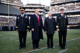 Trump in Uniform