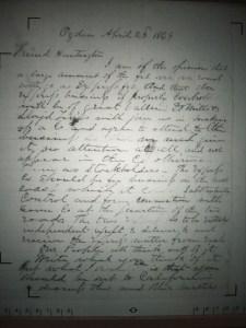 Stanford Letter 1