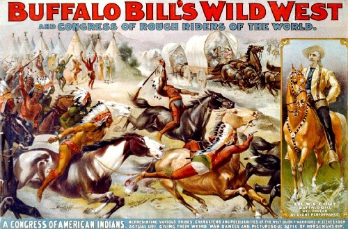 Buffalo Bill's Wild West Show Poster.
