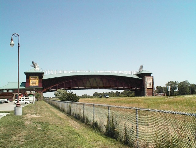 Great Platte River Road Archway Spans I-80