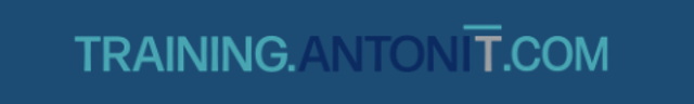 antonit logo - cloud training