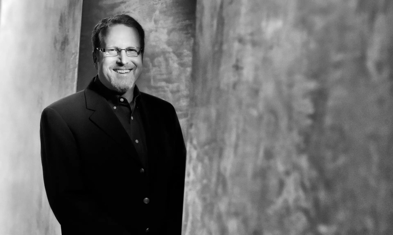 Corporate portrait photographer in Vancouver for Sony Imageworks of Rick Mischel the Senior Vice President of Sony Imageworks