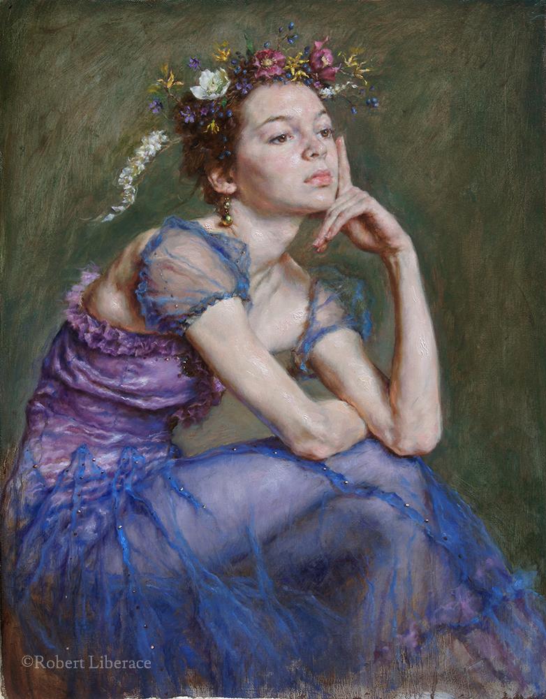 Robert-Liberace,-Spring,-oil-on-canvas