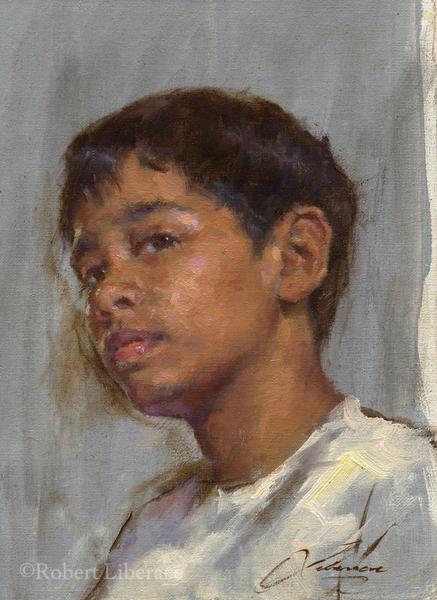 Robert Liberace, Allan-portrait