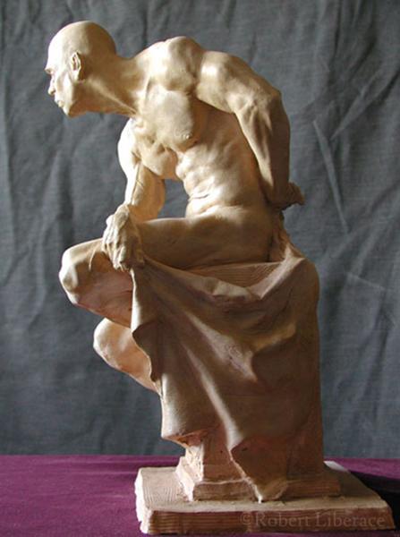 Robert Liberace, Herculese, terra-cotta