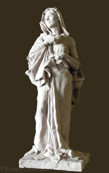 Robert Liberace, Mary, terra-cotta