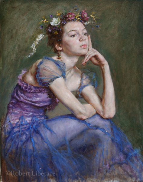Robert Liberace, Spring oil on canvas