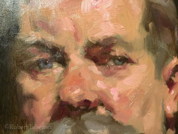 Robert Liberace, demo at The Principle Gallery, detail