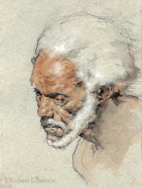 Robert-Liberace-watercolor of Bill