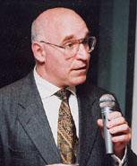 Robert Liebman with microphone