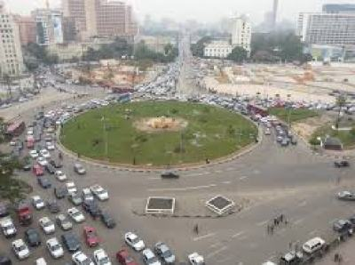 Tahrir Square - Before