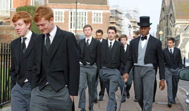 Dressing for Success: Harrow School, northwest London